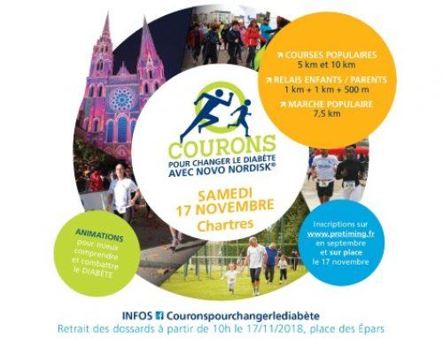 le 17 novembre, courons pour changer le diabète