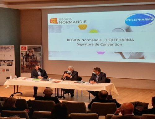 588 000 € de la Région Normandie pour la filière pharmaceutique