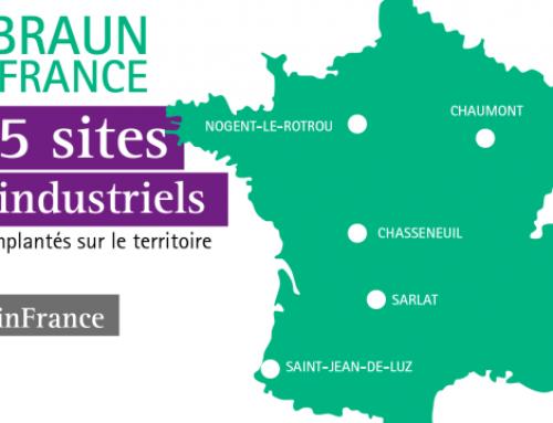 B. Braun rejoint la French Fab et réaffirme son engagement pour le tissu industriel français
