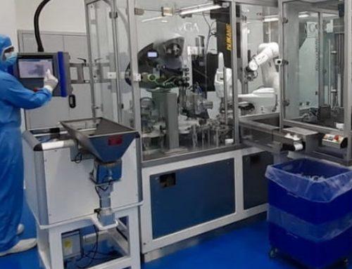 Infiplast réindustrialise les filtres ECH pour les appareils respiratoires à Oyonnax